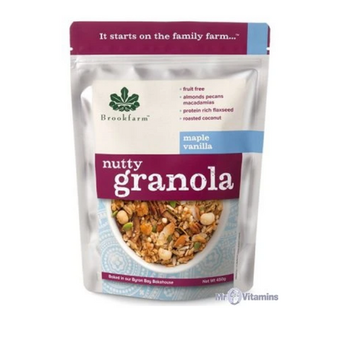 Brookfarm Granola Nutty Maple Vanilla