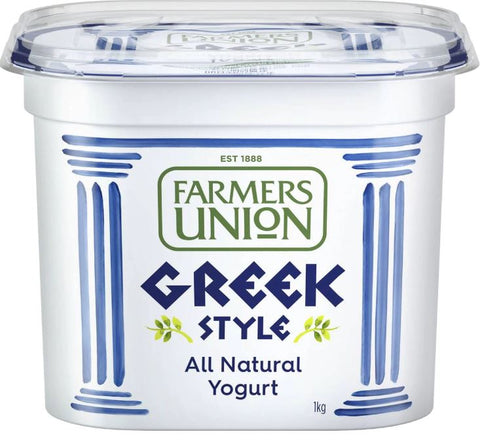Farmers Union Greek Style Yoghurt 1kg