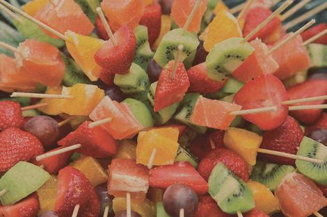 Fresh fruit - Skewers