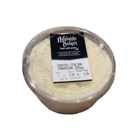 Cheese - A/Select Parmesan Grated 200g