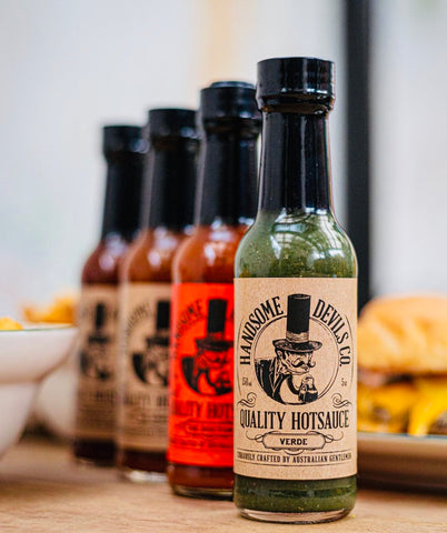 Handsome Devils Hot Sauce 150ml Varieties