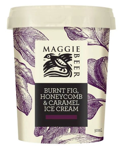 Maggie Beer Ice-cream Burnt Fig 500ml