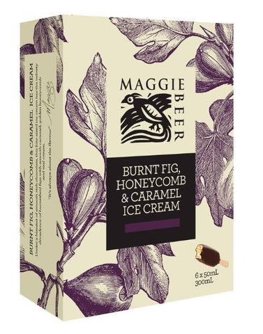 Maggie Beer Ice-cream Burnt Fig Sticks 6X50ml