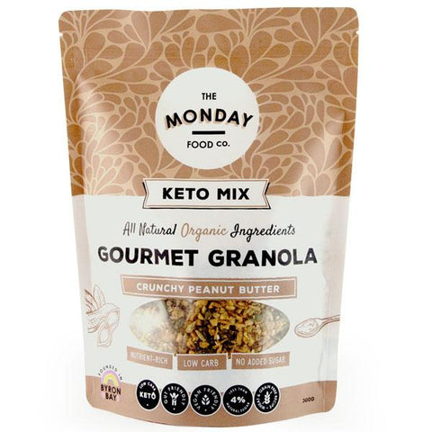 Monday Food Co Crunchy Peanut Butter Keto Granola