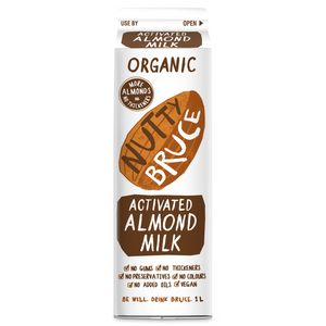 Nutty Bruce Activated Almond Milk 1L