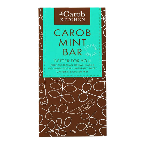Carob Kitchen Mint Choc Block 80g
