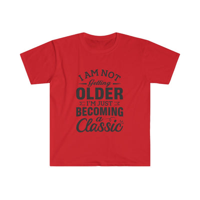 I'm Not Getting Older Men's Fitted Short Sleeve Tee - The Savvy Senior Shop