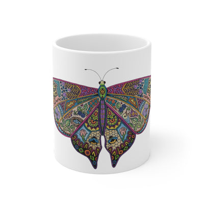Butterfly Mug 11 oz - The Savvy Senior Shop