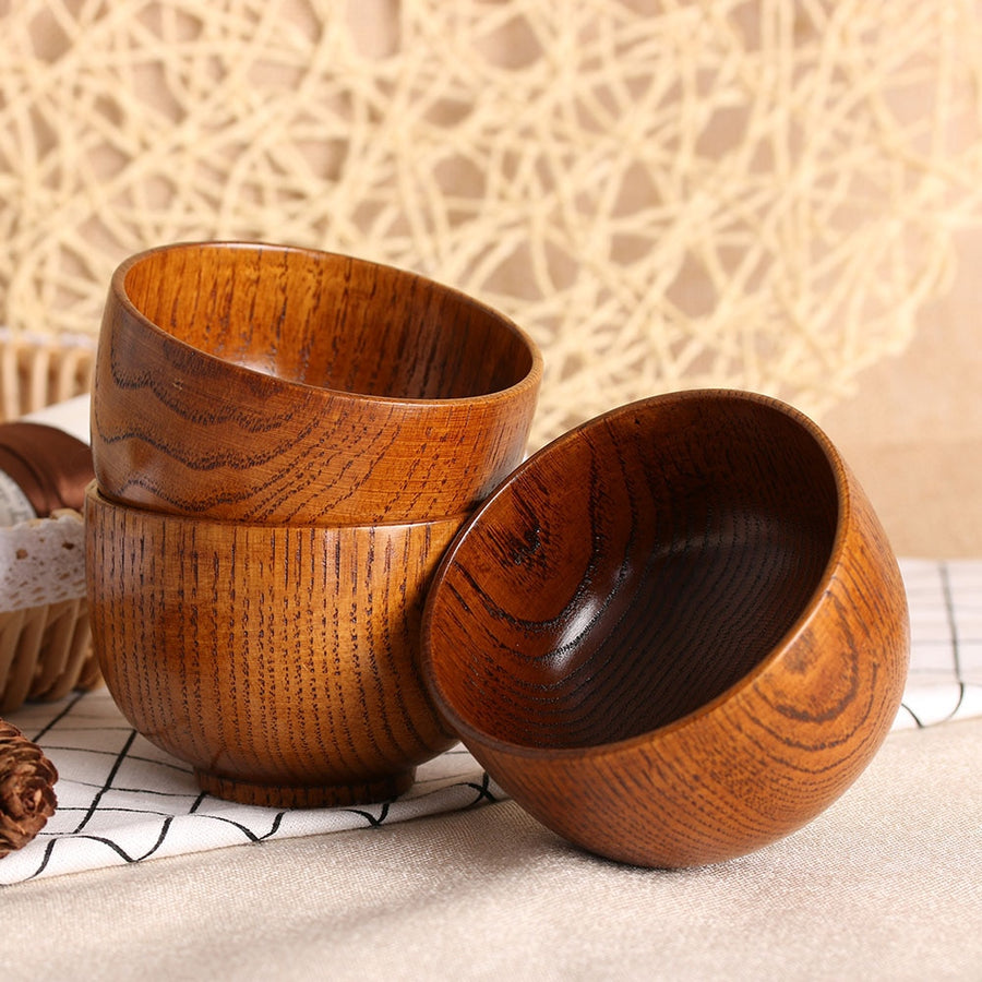 Bamboo Wood Bowl