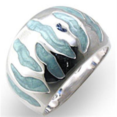High-Polished 925 Sterling Silver Ring - The Savvy Senior Shop
