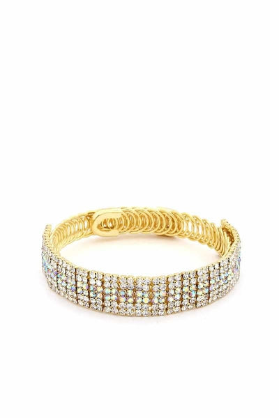 Rhinestone Flashy Bracelet - The Savvy Senior Shop