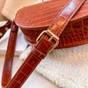 Elegant Crocodile Pattern Crossbody Bag For Women - The Savvy Senior Shop