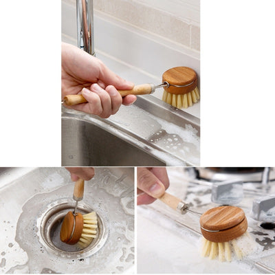 Natural Kitchen Scrub Brush - The Savvy Senior Shop