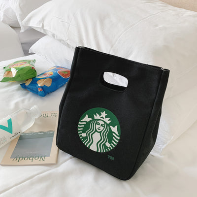 Starbucks Canvas and Polyester Bag - The Savvy Senior Shop