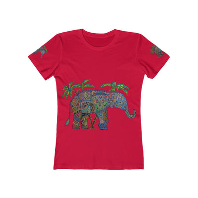 Women's Elephant Tee - The Savvy Senior Shop