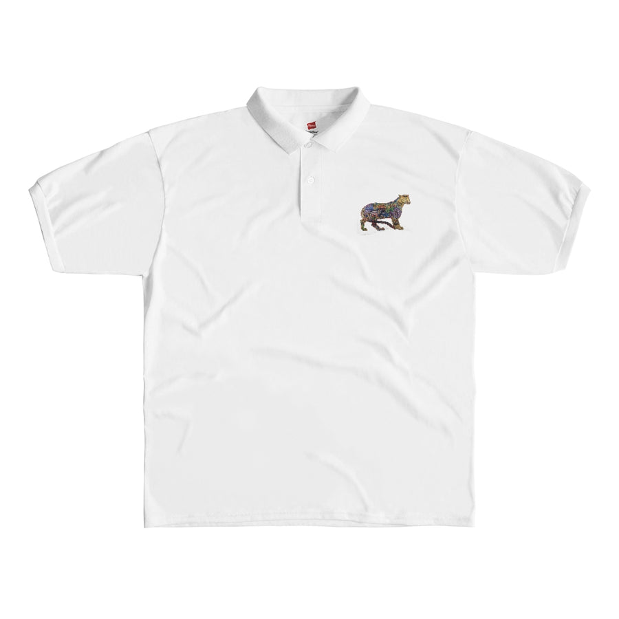 Men's Polo Shirt (Catch a Tiger)!