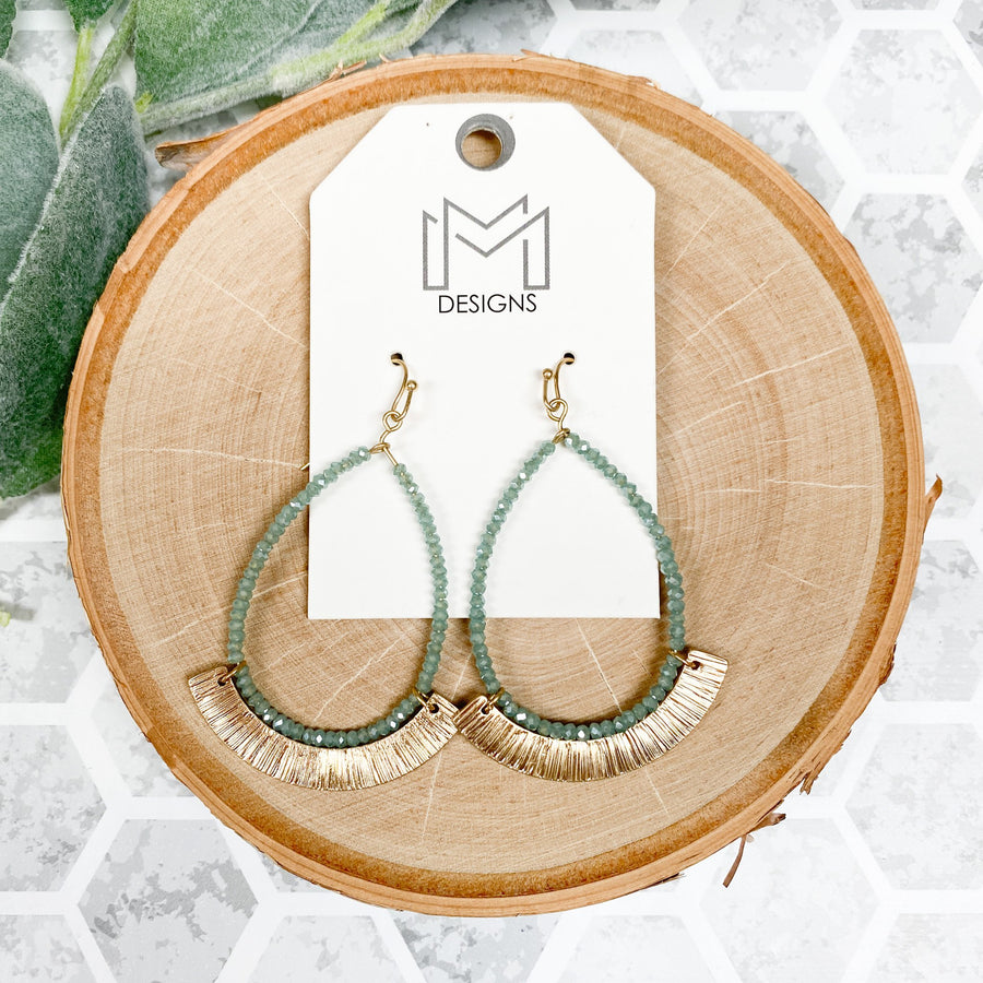 Minted Earrings