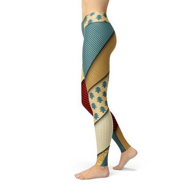 Beverly Golden Present Leggings - The Savvy Senior Shop