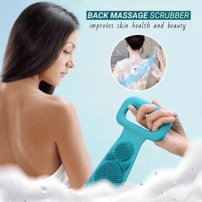 Reach At Ease Silicone Back Scrub - The Savvy Senior Shop