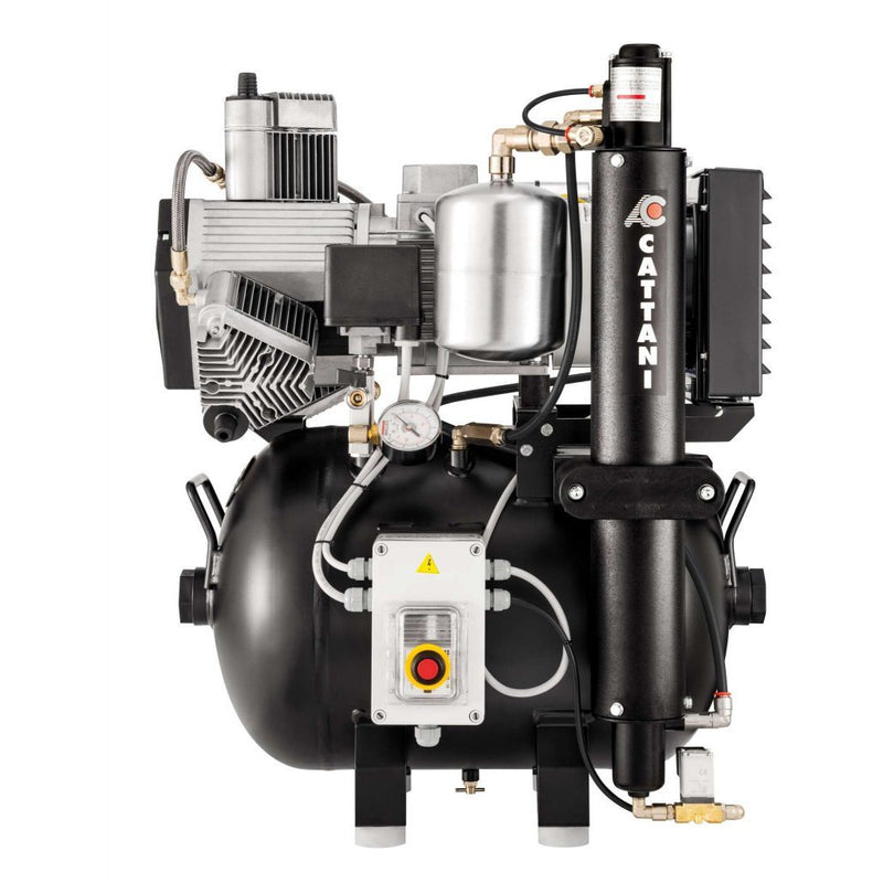 Cattani AC300 (4-6 Surgeries) Compressor - DentaledgeUK