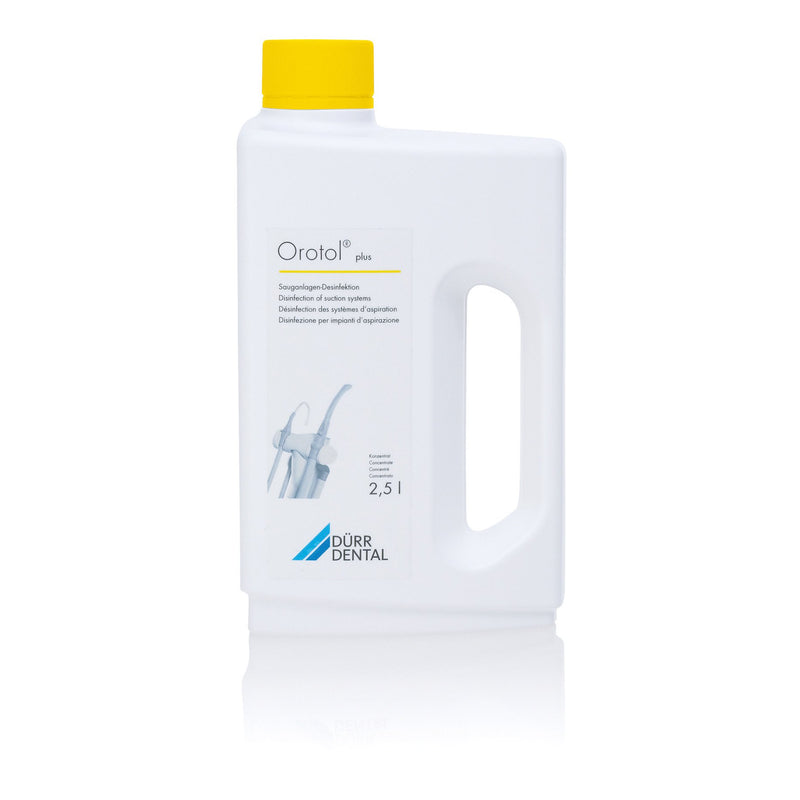 Durr Orotol® Plus Suction Unit Disinfectant Daily Cleaner (Pack of 4) - Dental Edge UK