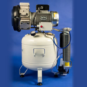 DenComp DC 4/40V (3-4 Surgeries) Compressor - DentaledgeUK