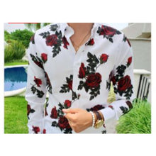 Load image into Gallery viewer, Men's Printed Casual Shirts