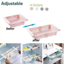 Load image into Gallery viewer, Adjustable Fridge Storage Basket (4 Pcs)