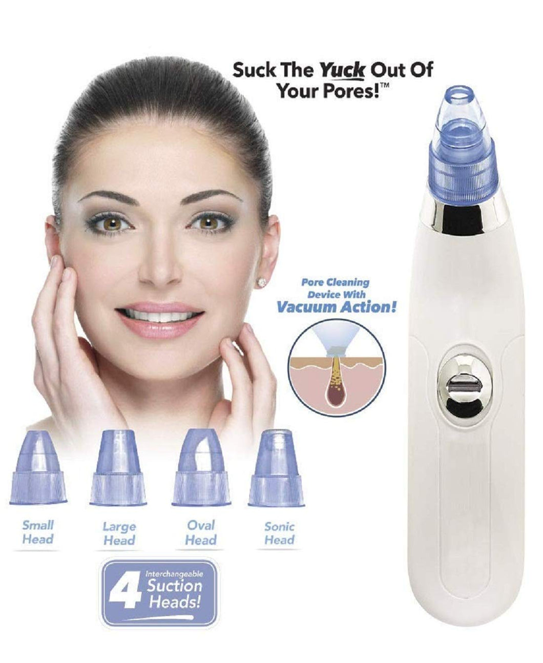 4 in 1 Blackhead Remover and Whitehead Remover