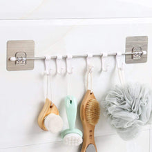 Load image into Gallery viewer, Stainless Steel 6 Hook Hanger for Kitchen