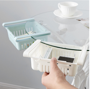 Adjustable Fridge Storage Basket (4 Pcs)