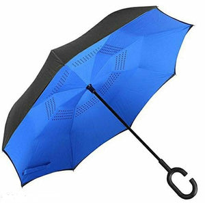Magic Umbrella with C-Shaped Handle