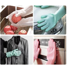 Load image into Gallery viewer, Silicone Magic Glove Set  (1 Pair)