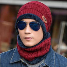 Load image into Gallery viewer, Attractive Men's & Women's Woollen Head And Neck Combo