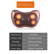 Load image into Gallery viewer, Electric Infrared Pillow Massager