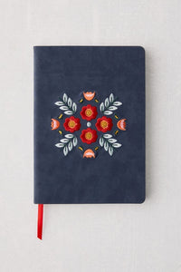 Denik Embroidered Evelyn Journal