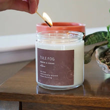 Load image into Gallery viewer, Amber + Cedar Soy Candle 3.5oz