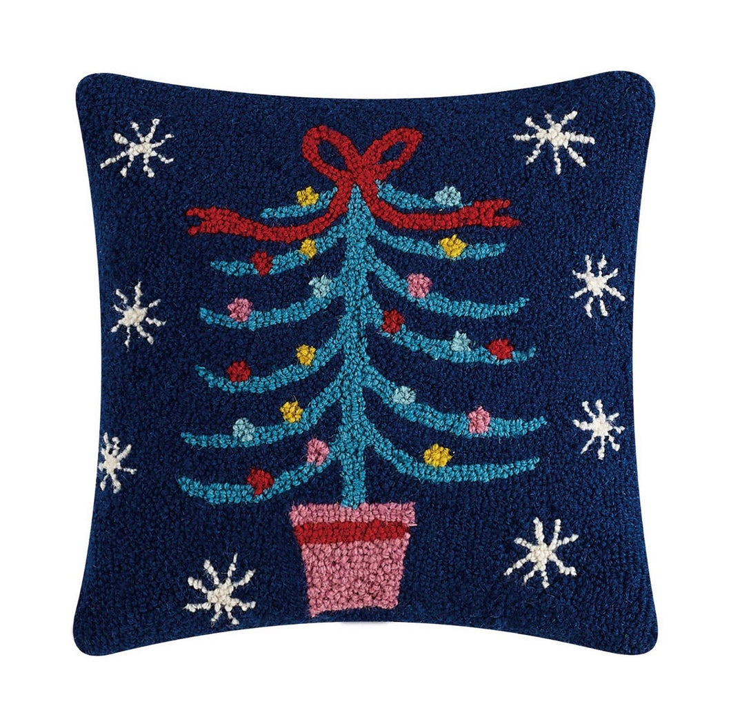 Festive Tree Hook Pillow