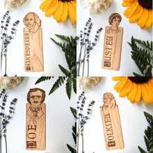 Load image into Gallery viewer, Literary Figures Peek-a-Boo Bookmark Collection