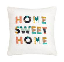Load image into Gallery viewer, Home Sweet Home Embroidered Pillow