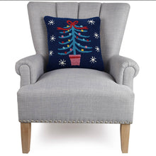 Load image into Gallery viewer, Festive Tree Hook Pillow