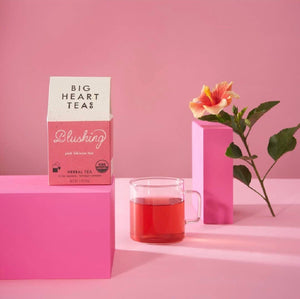 Big Heart Tea Blushing Tea Bags