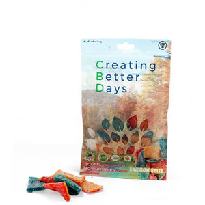 Creating Better Days - CBD Edible - Rainbow Belts Gummies - 20pc-15mg - Natural Releaf CBD