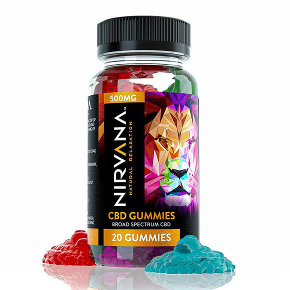 Nirvana - CBD Gummies - 500mg - Natural Releaf CBD