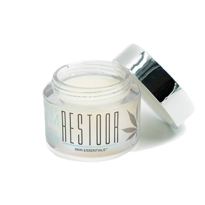 Restoor Skin Essentials - CBD Topical - Pain Relief Balm - 125mg - Natural Releaf CBD