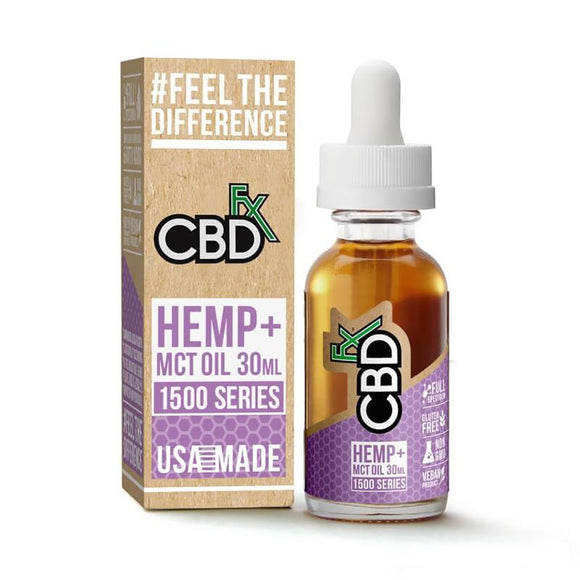 CBDfx - CBD Tincture Oil - 1500mg - Natural Releaf CBD