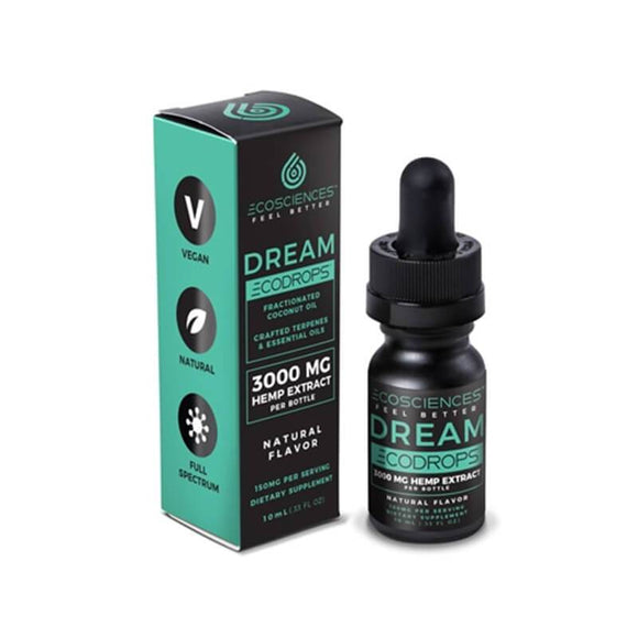Eco Sciences - CBD Tincture - ECODROPS Dream 10ml - 500mg - Natural Releaf CBD