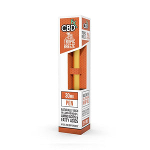 CBDfx - CBD Vape Pen - Tropic Breeze - 30mg - Natural Releaf CBD