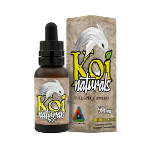 Koi CBD - CBD Tincture - Koi Naturals Lemon Lime 30ml - 250mg-2000mg - Natural Releaf CBD
