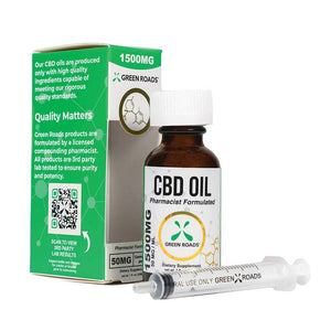 Green Roads - CBD Oil - 1500mg - Natural Releaf CBD